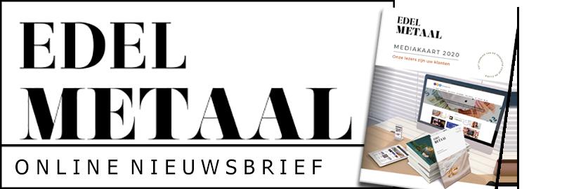 Edelmetaal Online Nieuwsbrief banner
