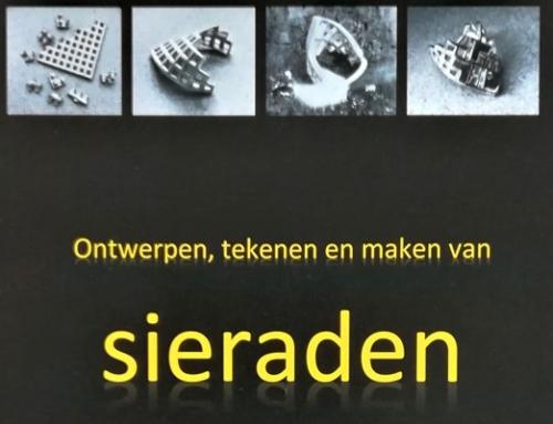 Nieuw boek voor goudsmeden: Ontwerpen, tekenen en maken van sieraden