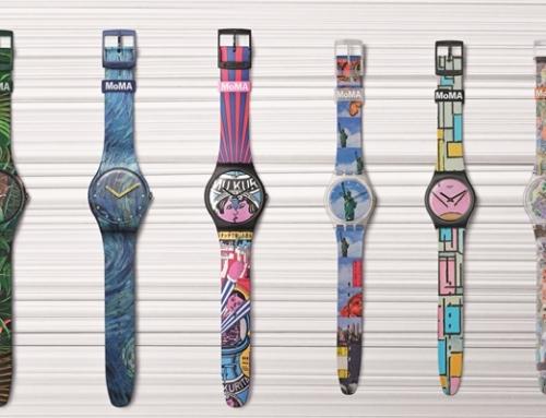 Swatch en MoMA: Special Edition-horloges