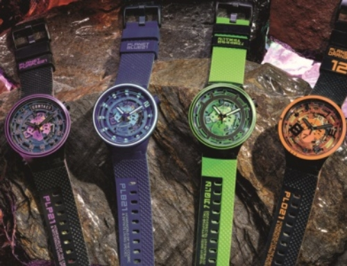 Swatch Big Bold Planets: time to think color
